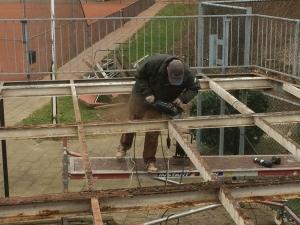 Aanpassing balkon